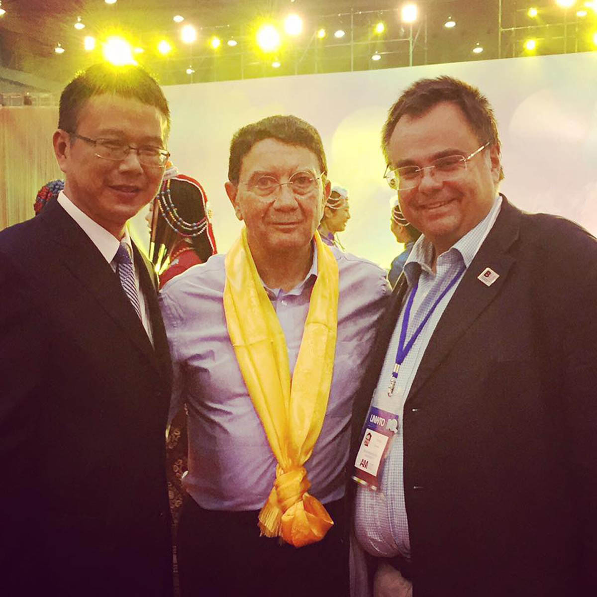 Dimitrios Buhalis Taleb Rifai and Governor of Chengdu China