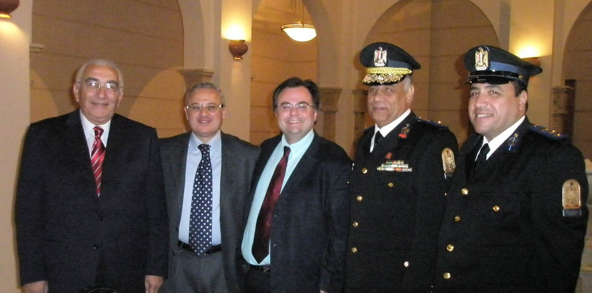 Ahmed Hassan Al Nahas, Dimitrios Buhalis, Hisham Zaazou and the Generals at the Egyptian Tourism Federation