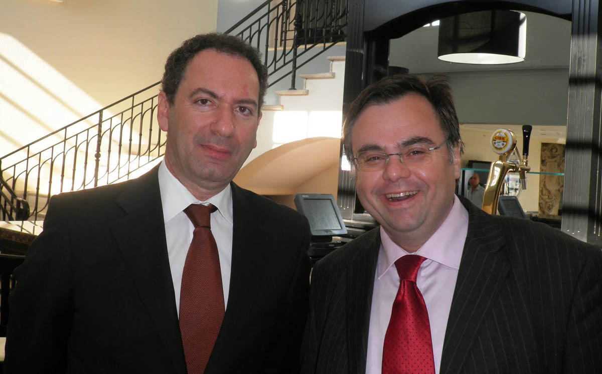 Dimitrios Buhalis with Minister of Tourism for Malta
