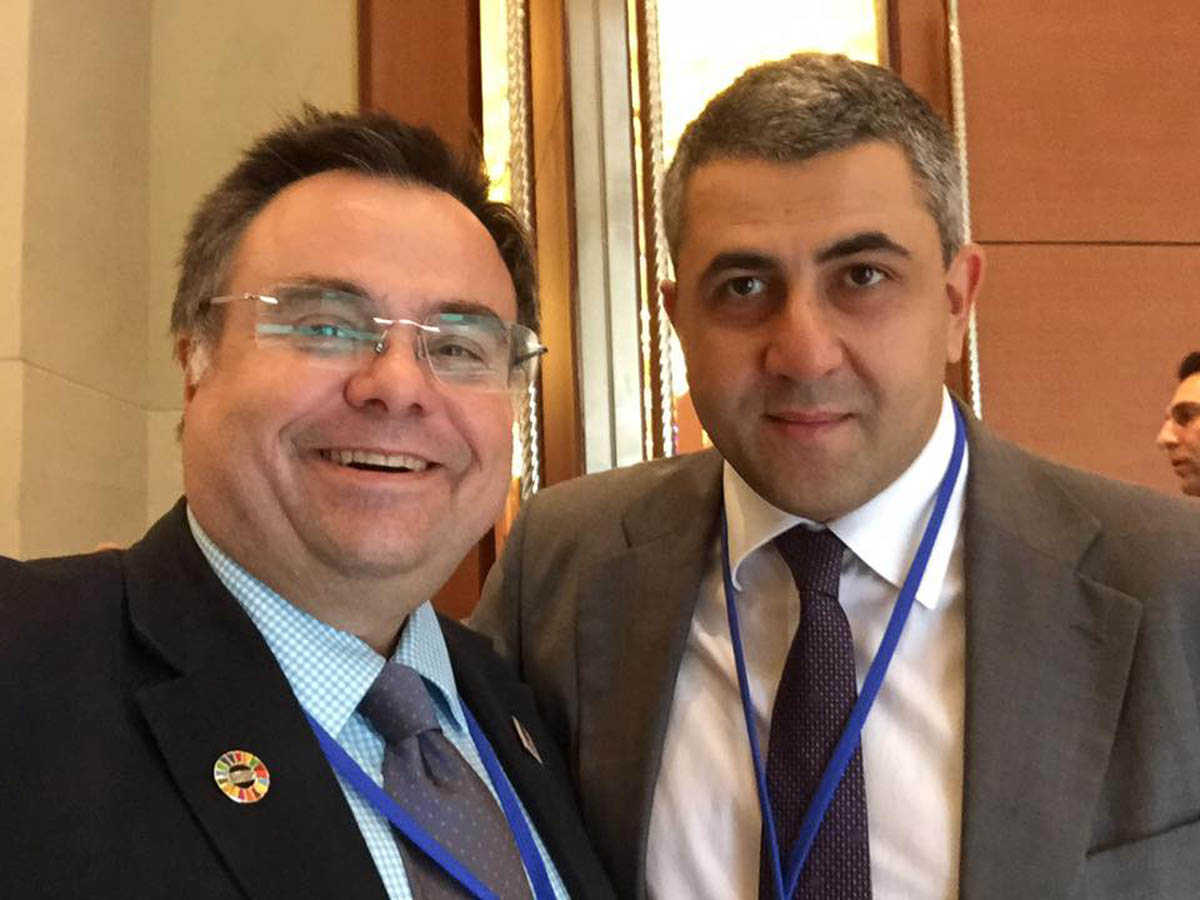 Dimitrios Buhalis Zurab Pololikashvili Secretary-General of the World Tourism Organization (UNWTO)