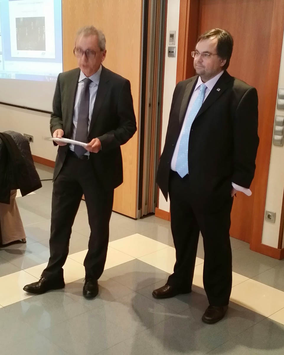 Dimitrios Buhalis with Minister of Tourism and Trade of the Government of Andorra Message. H.E. Mr. Francesc Camp Torres